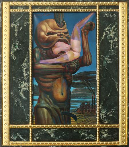 Ernst FUCHS - Gemälde - Der Puppenschluck