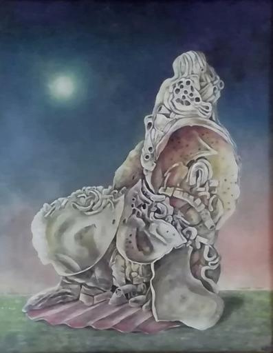 Erich GARGERLE - Gemälde - Monumentum Neptuni