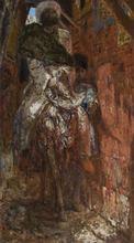 Marius BAUER - Pintura - Oosterse Feestganger