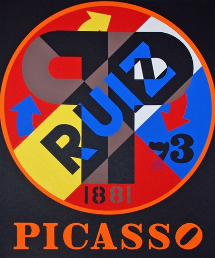 Robert INDIANA - Stampa-Multiplo - Picasso