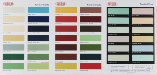 Damien HIRST - Estampe-Multiple - H-2 Color Chart with Spot Varnish