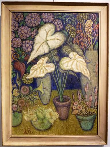 Juliette ROCHE - Pintura - Fleurs mystiques