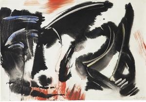 Gérard SCHNEIDER - Dessin-Aquarelle - Composition