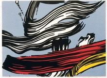 Roy LICHTENSTEIN (1923-1997) - Brushstrokes