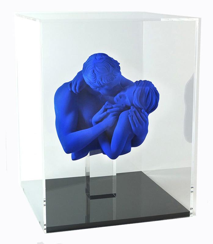 Yves PIRES - Skulptur Volumen - Le Baiser