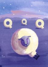 Rocío DEL MORAL - Estampe-Multiple - Animal Alphabet - The letter Q    (Cat N° 6190)