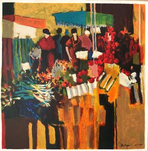 Claude FAUCHERE - Print-Multiple - Market