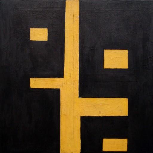 Quirino RUGGERI - Painting - Composizione