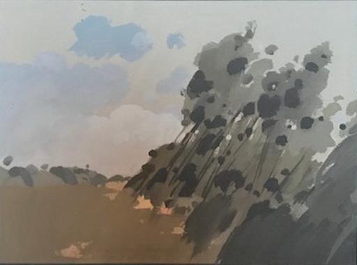 Alejandro GONZALEZ PASCUAL - Zeichnung Aquarell - PAISAJE