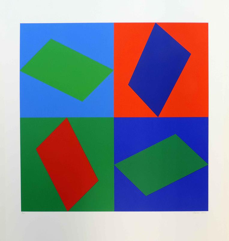Geneviève CLAISSE - Print-Multiple - Hadron
