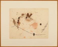 Joan MIRO - Dibujo Acuarela - Untitled II