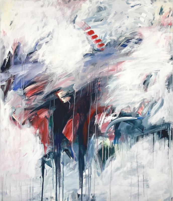 Jutta Rika BRESSEM - Painting - Himmelsleiter