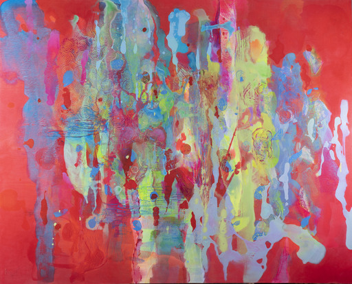 Marie-Pierre AUTONNE - Peinture - Les Larmes du Soleil