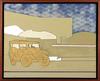 Renato MAMBOR - Painting - Viaggio nel deserto