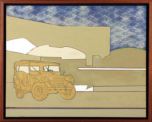 Renato MAMBOR - Peinture - Viaggio nel deserto
