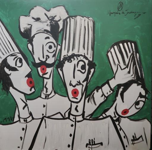 Marquéz DE JADRAQUE - Painting