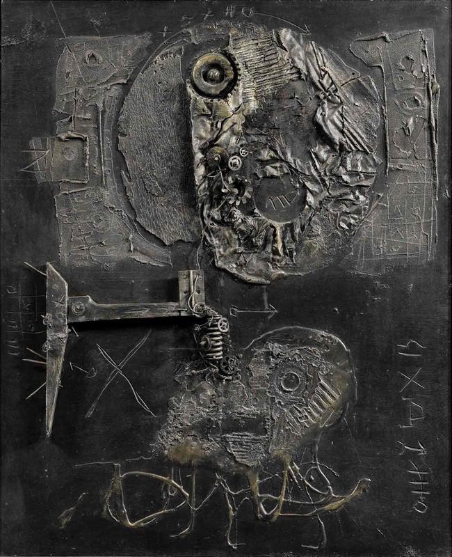 Igael TUMARKIN - Peinture - Untitled