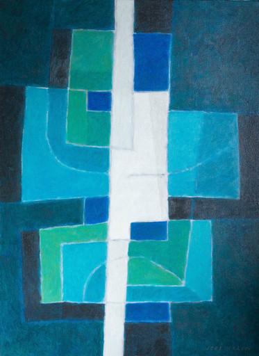 Jorj MORIN - Pittura - L'oeil vigilant