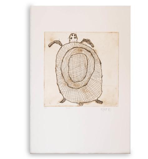 Kate MIWULKU - Estampe-Multiple - Turtle