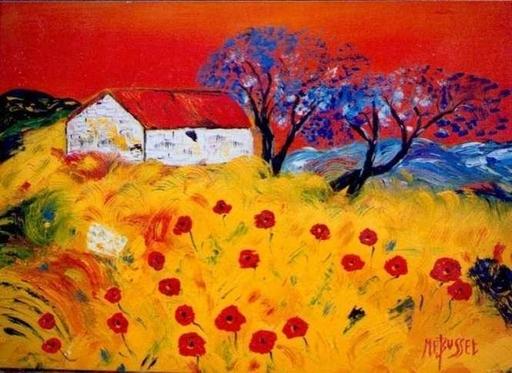 Marie-France BUSSET - Gemälde - PLEIN SOLEIL