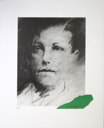 Ernest PIGNON-ERNEST - Druckgrafik-Multiple - Rimbaud (69)