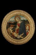 Fiorentino PSEUDO-PIER FRANCESCO - Painting - Madonna with Child