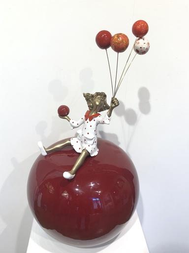 Chantal DE BLOCK - Escultura - Pierrette