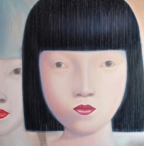 Jo CHANCHAI - Pittura - Eastern Beauties X