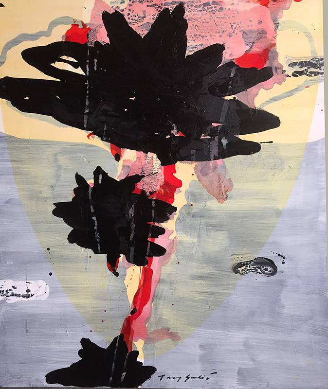 Tony SOULIÉ - Painting - Dreamed Flower i