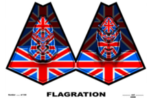 GILBERT & GEORGE - Photography - Flagration