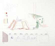 David HOCKNEY - Print-Multiple - A Moving Still Life