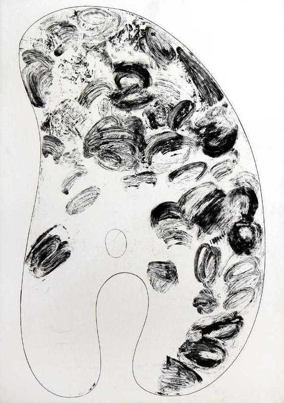 Jim DINE - Print-Multiple - Palette III