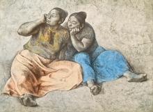 Francisco ZUÑIGA - Grabado - Juchitecas II