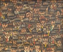 """Antonio SEGUI (1934) - """"Personajes"""""""
