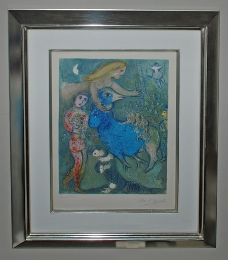 Marc CHAGALL - Estampe-Multiple - Frontispiece
