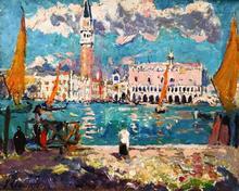 勒迈耶 - 绘画 - Venise