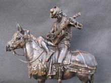 Emmanuel FRÉMIET - Sculpture-Volume - Cavalier Espagnol-andalou