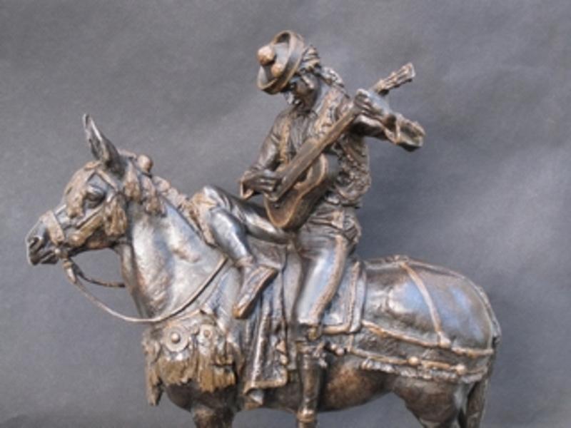 Emmanuel FRÉMIET - Escultura - Cavalier Espagnol-andalou