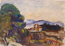 Marcel ARNAUD (1877-1956) - Campagne aixoise