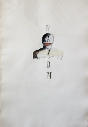 Jaume PLENSA - Drawing-Watercolor - Haydn