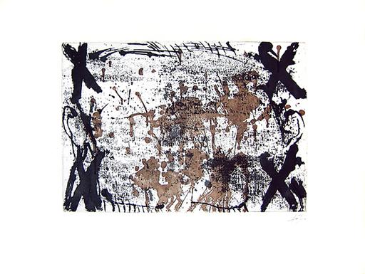 Antoni TAPIES - Print-Multiple - Les Quatre Croix