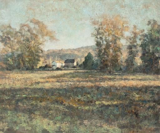 André BOUBOUNELLE - Gemälde - La Millière, fin d'automne