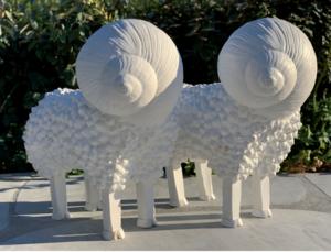 Serge MANSAU - Sculpture-Volume - Les escarboucs
