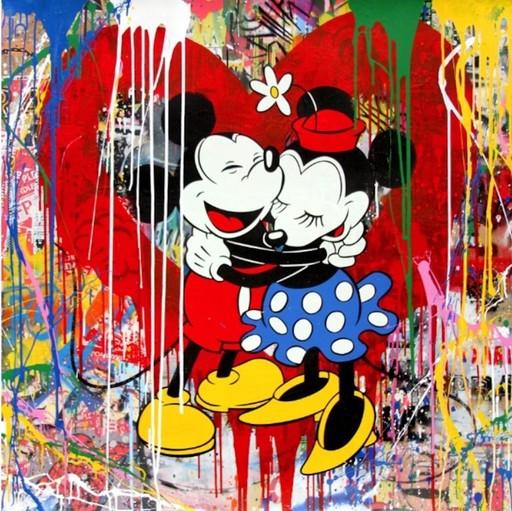 MR BRAINWASH - Painting - True Love