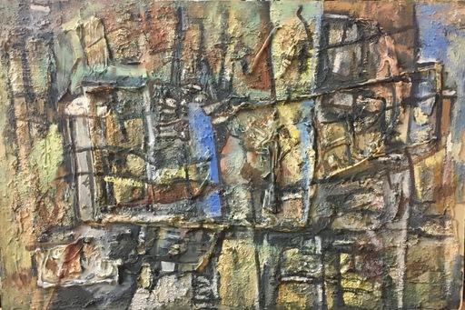 Yves JOUANNAUD - Gemälde - Ill me fait reposer dans de verts pâturages