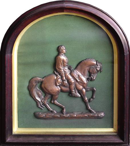John Quincy Adams WARD - Sculpture-Volume - Gen. George Brinton McClellan