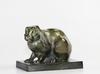 Armand PETERSEN - Sculpture-Volume - Lapin de clapier