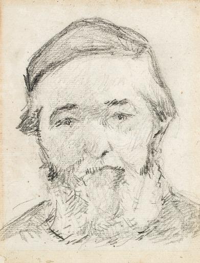 Paul GAUGUIN - Drawing-Watercolor - Henri Gauguin, the Artist's Uncle (Henri Gauguin, l'oncle de