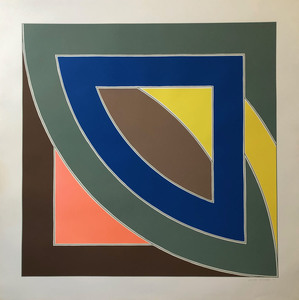 Frank STELLA - Print-Multiple - River of Ponds I (from the Newfoundland series)