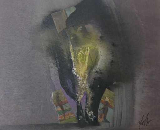 Sergio DANGELO - Peinture - L'angelus
